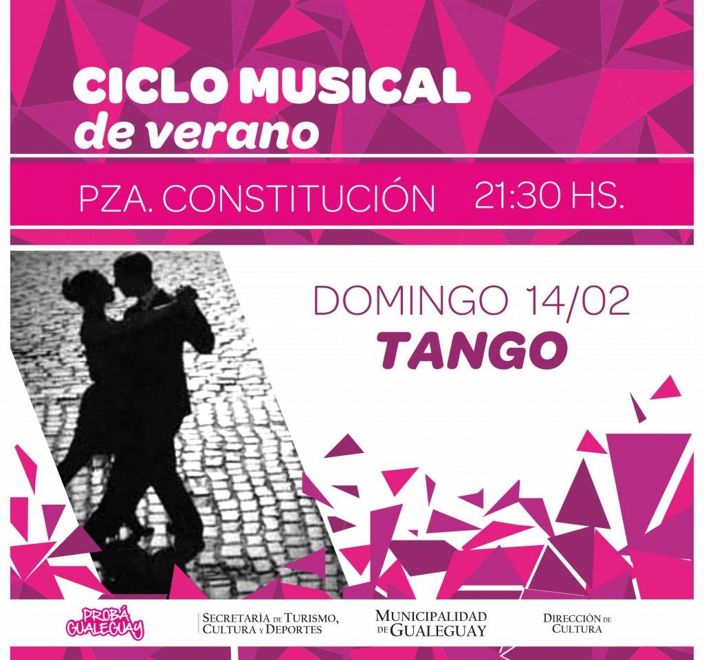 ciclo musical TANGO